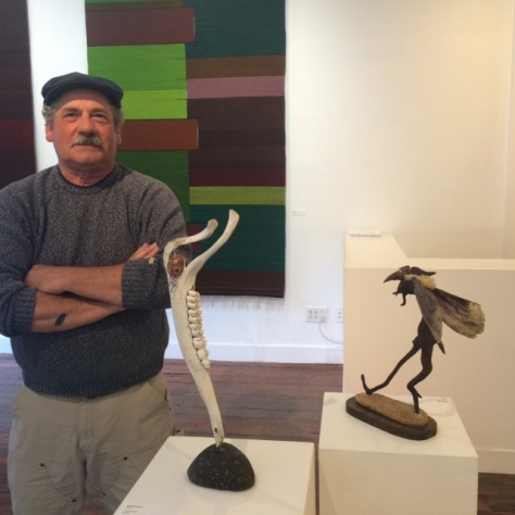 Keith with Sedna at Black Hole Spring Exhibition 2016